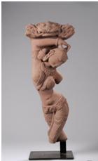 Apsara dansante figurée en tribanga - vente 28 octobre 2010 - Bernard Gomez Expert en art asiatique