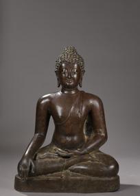 Bouddha-Maravijaya - vente 16 decembre 2015 - Bernard Gomez Expert en art asiatique