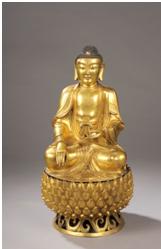 Bouddha Sakyamuni - vente 10 Octobre 2011 - Bernard Gomez Expert en art asiatique