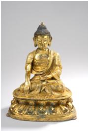 Buddha shakyamuni - vente Octobre 2012 - Bernard Gomez Expert en art asiatique