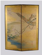 Nikyoku Byobu - Octobre 2012 - Bernard Gomez Expert en art asiatique