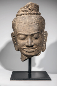 Tête-de-Lokeshvara-Boddhisattva - vente 16 decembre 2015 - Bernard Gomez Expert en art asiatique