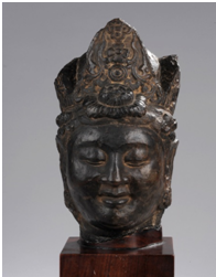 Tete de Kwan Yin - vente Mai 2012 - Bernard Gomez Expert en art asiatique