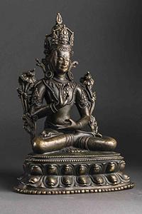 Avalokitésvara Padamapani - vente 26 avril - Bernard Gomez cabinet expertise art asiatique